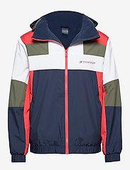 Tommy Sport - BLOCK FULL ZIP JACKET - training jackets - sport navy - 0