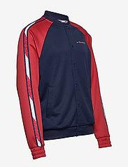 Tommy Sport - TAPE TRACK JKT - podstawowe bluzy - sport navy - 5