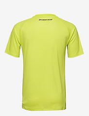 Tommy Sport - TRAINING MESH TOP - t-shirts - lemon lime - 1