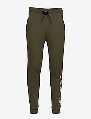 Tommy Sport - CUFF FLEECE PANT HBR - sweatpants - army green - 0