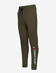 Tommy Sport - CUFF FLEECE PANT HBR - sweatpants - army green - 2