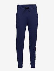 Tommy Sport - CUFF FLEECE PANT HBR - sweatpants - blue ink - 0