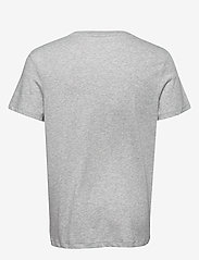 Tommy Sport - TAPE LOGO TOP - t-shirts - grey heather - 1