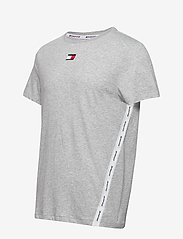 Tommy Sport - TAPE LOGO TOP - t-shirts - grey heather - 2