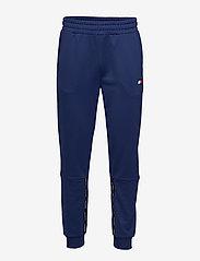 Tommy Sport - CUFFED TRACK PANT TA - sweatpants - blue ink - 0