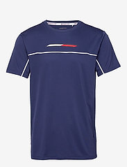 Tommy Sport - PERFORMANCE TOP - t-shirts - blue ink - 0