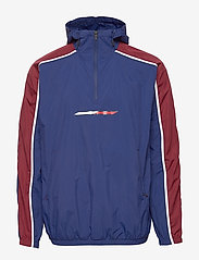 Tommy Sport - 1/2 ZIP WINDBREAKER - anoraks - blue ink - 1