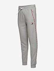 Tommy Sport - PIPING FLEECE CUFFED PANT - pants - grey heather - 2