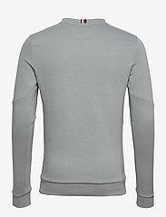 Tommy Sport - LOGO FLEECE CREW - basic-sweatshirts - antique silver - 1
