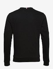 Tommy Sport - LOGO FLEECE CREW - basic-sweatshirts - black - 1