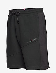Tommy Sport - BLOCKED TERRY SHORT - casual shorts - black - 2