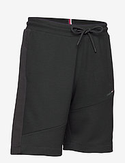 Tommy Sport - BLOCKED TERRY SHORT - casual shorts - black - 3