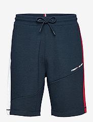 Tommy Sport - BLOCKED TERRY SHORT - casual shorts - desert sky - 0