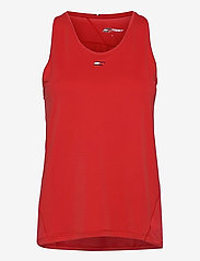 Tommy Sport - REGULAR R-NK TANK - tank tops - primary red - 0