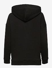 Tommy Sport - RELAXED GRAPHIC HOODIE LS - sweatshirts & hoodies - black - 1