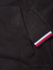 Tommy Sport - LOGO FLEECE HOODY - hoodies - black - 5
