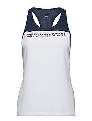 Tank Top Chest Logo, - SPORT NAVY