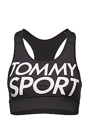 SPORTS BRA LOGO MEDIUM - PVH BLACK