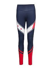 Tommy Sport Legging Full Length With Stars - SPORT NAVY