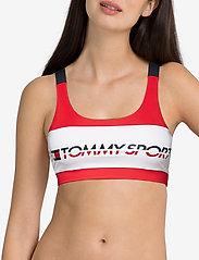 Tommy Sport - Sports Bra Low Impact - sport bras: low - true red - 2