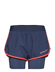 BLOCKED 2 IN 1 SHORT - SPORT NAVY