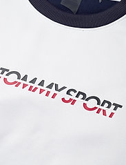 Tommy Sport - BLOCKED TERRY CREW LOGO - svetarit - sport navy - 2