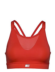 LOW SUPPORT BRA - BRIGHT VERMILLION