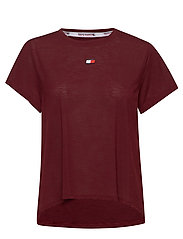 PERFORMANCE LBR TOP - DEEP ROUGE