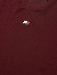 Tommy Sport - PERFORMANCE LBR TOP - t-shirts - deep rouge - 2