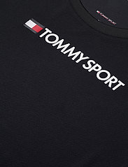 Tommy Sport - PERFORMANCE CHEST LOGO TOP - logo t-shirts - desert sky - 2