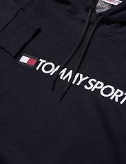 Tommy Sport - CROPPED HOODY LOGO - hoodies - desert sky - 2