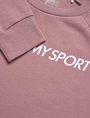 Tommy Sport - CREW SWEATER LOGO - sweatshirts - red dust - 2