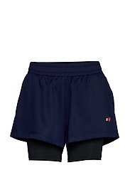 "3"" 2-IN 1 WOVEN SHORT LBR - BLUE INK"