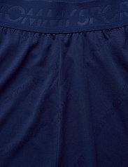 "Tommy Sport - 5"" JACQUARD SHORT - spodenki treningowe - blue ink - 3"