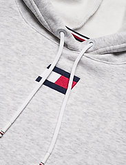 Tommy Sport - CROPPED HOODY FLAG LOGO - hoodies - ice heather - 2
