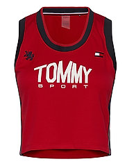 CROP TOMMY TANK TOP - PRIMARY RED