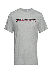 T-Shirt Logo Chest - GREY HEATHER