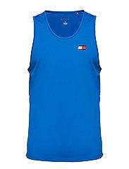 Tank Top Back Logo - PRINCESS BLUE