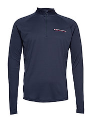 1/4 ZIP BASE LAYER T - SPORT NAVY