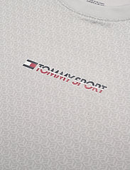 Tommy Sport - PERFORMANCE TEE - t-shirts - october grey - 2