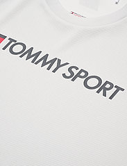 Tommy Sport - TRAINING TOP MESH LOGO - t-shirts - light cast - 2