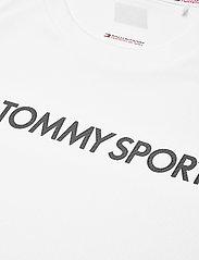 Tommy Sport - TRAINING TOP MESH LOGO - t-shirts - white - 2