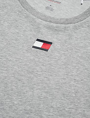 Tommy Sport - TAPE LOGO TOP - t-shirts - grey heather - 4