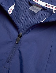 Tommy Sport - 1/2 ZIP WINDBREAKER - anoraks - blue ink - 3