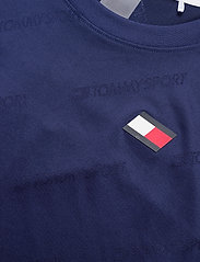 Tommy Sport - JACQUARD TRAINING TOP - t-shirts - blue ink - 2