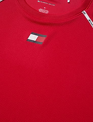 Tommy Sport - PIPING TRAINING TOP - t-shirts - primary red - 2