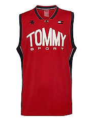 BASKETBALL ICONIC TANK TOP - PRIMARY RED