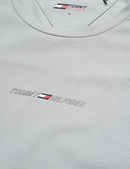 Tommy Sport - STRIPE LOGO TEE - oberteile & t-shirts - antique silver - 2