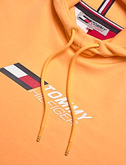 Tommy Sport - TERRY LOGO HOODY - hoodies - lumen sun orange - 2