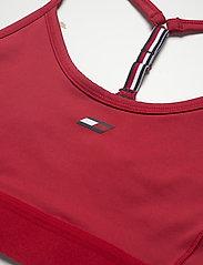 Tommy Sport - LIGHT INTENSITY RACER BRA - sport bras: low - primary red - 2